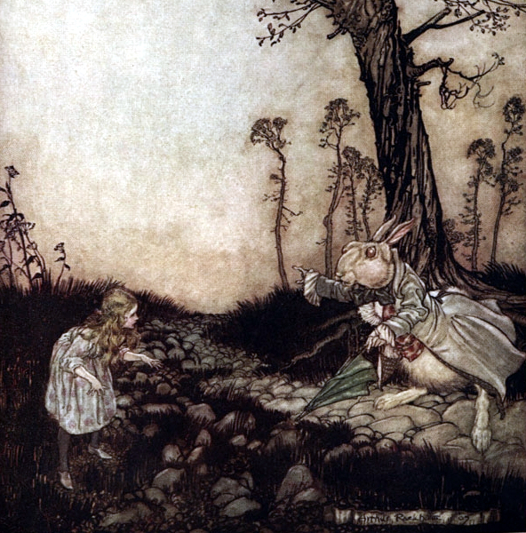 """Alice's Adventures in Wonderland"" by Arthur Rackham"