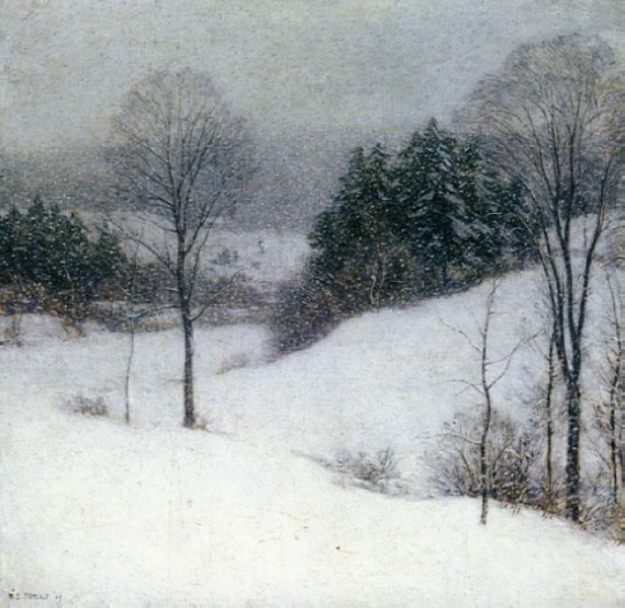 WillardMetcalf.whiteveil