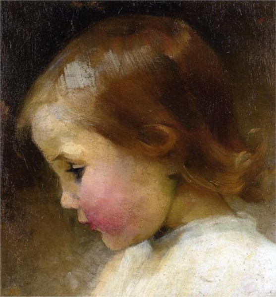 """Portrait of a Girl"" by Helene Schjerfbeck (1862-1946) Finnish Realist Painter"